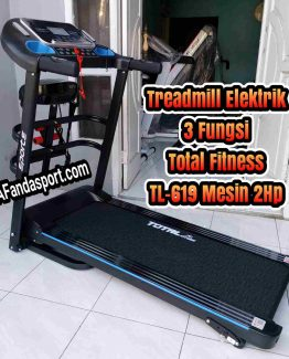 Treadmill Elektrik TL-619 Mesin 2Hp