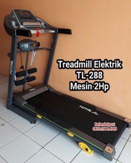 Treadmill elektrik 33 fungsi tl288 mesin 2hp