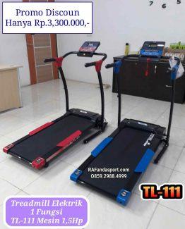 TL-111-Treadmillelektrik-1fungsi-Rafandasport