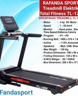 Treadmillelektrik-totalfitness-tl126