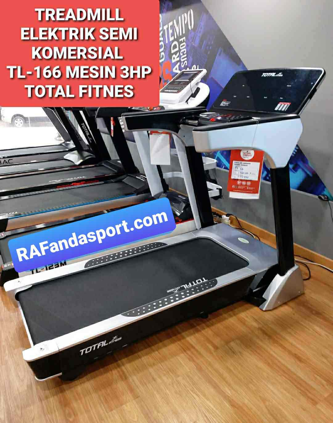 TL166-TreadmillElektrik-Rafandasport